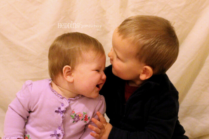 Eva Joy & Asher 9 months